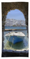 Paros - Cyclades - Greece Bath Towel