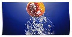 Peach Splash Hand Towel