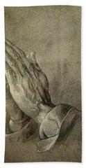 Praying Hands Hand Towel