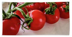 Tomatoes Bath Towel