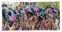 Toronto Caribbean Festival Bath Towel