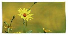 Wild Sunflower Stony Brook New York  Bath Towel