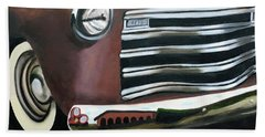 53 Chevy Truck Bath Towel