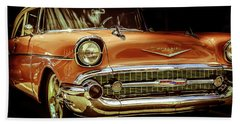 55 Chevy Hand Towel