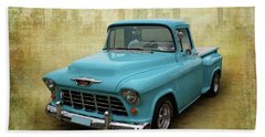 Hand Towel featuring the photograph 55 Stepside by Keith Hawley
