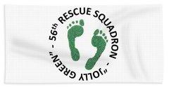 56th Rescue Squadron Hand Towel