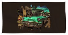 57 Buick - Just Coolin' It Hand Towel