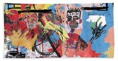 Basquiat Bath Towels
