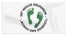 58th Rescue Squadron Hand Towel