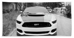 2017 Ford Gt Mustang 5.0 Hand Towel