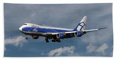 Air Bridge Cargo Boeing 747-8f Bath Towel