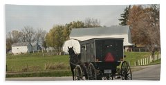 Amish Buggy Bath Towel