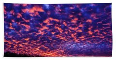 Hand Towel featuring the photograph Appalachian Sunset Afterglow by Thomas R Fletcher
