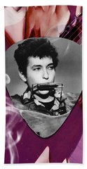 Bob Dylan Art Hand Towel
