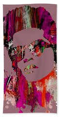 Bruno Mars Collection Bath Towel by Marvin Blaine