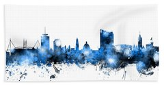 Cardiff Wales Skyline Bath Towel