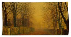 Evening Glow Hand Towel