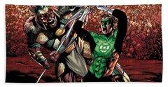 Green Lantern Hand Towel