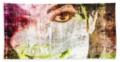 Michael Jackson Bath Towel by Svelby Art