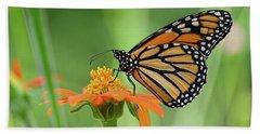 Monarch Hand Towel by Ronda Ryan