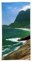 Rio De Janeiro Brazil Hand Towel by Utah Images