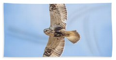 Rough-legged Hawk Hand Towel