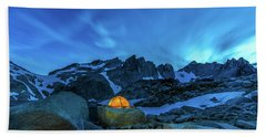 Hand Towel featuring the photograph The Enchantments by Evgeny Vasenev