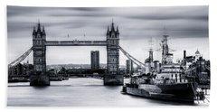 Tower Bridge - London Bath Towel