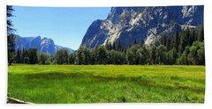 Yosemite Meadow Photograph Hand Towel