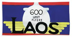 600 Lost Flyers Bath Towel