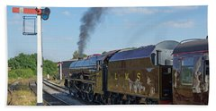 6201 Princess Elizabeth At Swanwick Station Bath Towel