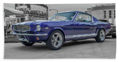 65' Mustang Bath Towel