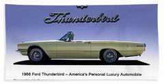 66 T-bird Display Piece Bath Towel by Douglas Pittman
