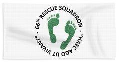 66th Rescue Squadron Hand Towel