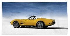 '69 Corvette Sting Ray Bath Towel