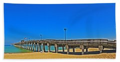 6x1 Venice Florida Beach Pier Bath Towel