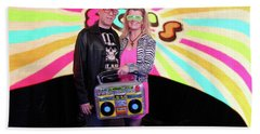 80's Dance Party At Sterling Events Center Bath Towel