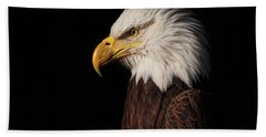 Bald Eagle  Bath Towel by Brian Cross