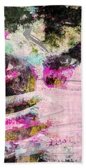 Ian Somerhalder Bath Towel by Svelby Art