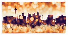 Las Vegas Nevada Skyline Bath Towel