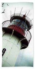 Lighthouse Hand Towel by Joana Kruse