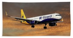 Monarch Airlines Airbus A321-231 Bath Towel