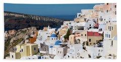 Oia, Santorini - Greece Hand Towel
