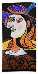 Hair Net  Picasso Bath Towel