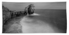 Portland Bill Seascapes Bath Towel