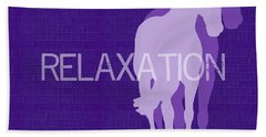 Relaxation Negative Hand Towel