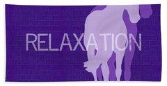 Relaxation Negative Bath Towel