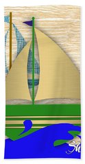 Sailing Collection Hand Towel