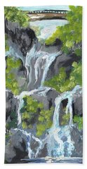 7 Scared Pools Maui Hand Towel