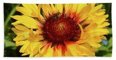 Hand Towel featuring the photograph Summer Flower by Elvira Ladocki